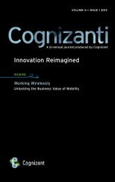 Unlocking the Business Value of Mobility - Cognizant