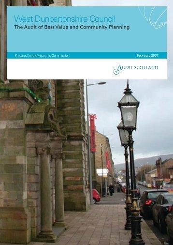 West Dunbartonshire Council: the Audit of Best ... - Audit Scotland
