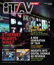 ethernet always wins? - Sound & Communications