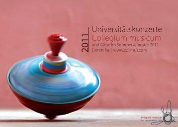 Universitätskonzerte Collegium musicum