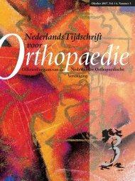 NTvO OKT 2007 [ed_3].indd - Nederlands Tijdschrift voor Orthopaedie