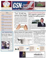 Hot News - Government Security News