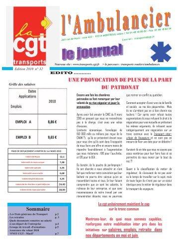 les retraites - Fédération CGT des transports - La cgt
