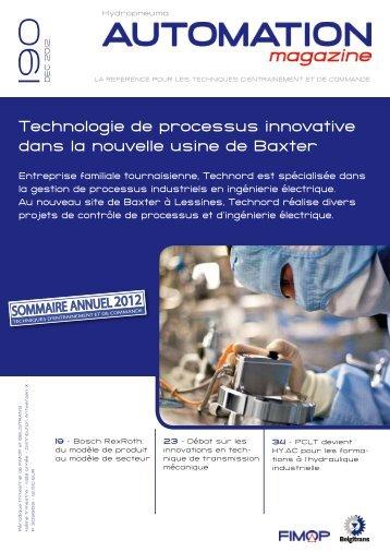 Technologie de processus innovative dans la nouvelle ... - Fimop