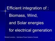 Efficient integration of : Biomass, Wind, and Solar energies for ...