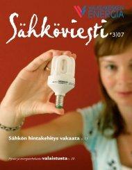 Sähkön hintakehitys vakaata s. 13 - Valkeakoski
