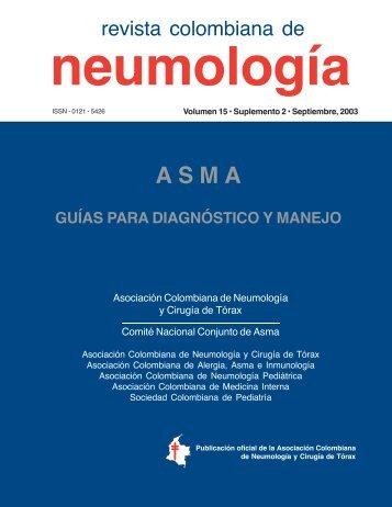 Guía para el Diagnóstico y Manejo ASMA - Asoneumocito