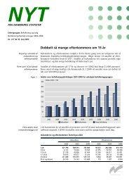 Nyt: Befolkningsfremskrivninger 2002-2040 - Danmarks Statistik