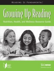 Nutrition, Health, and Wellness Resource Guide - Reading Is ...