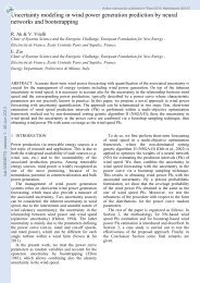 Uncertainty modeling in wind power generation prediction by neural ...