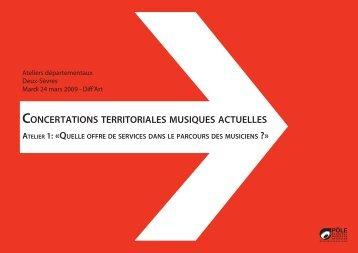 dossier documentaire (Deux-Sèvres) - Concertations Musiques ...