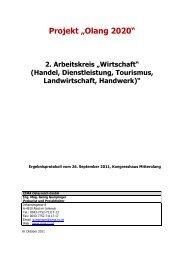 Ergebnisprotokoll Arbeitskreis Wirtschaft - 26.09.2011 (491 KB) - .PDF