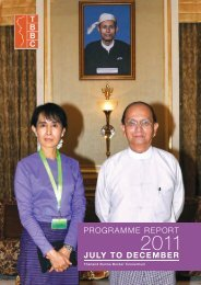 Programme July to December 2011