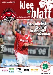 Den nächsten in Angriff nehmen! - SC Rot-Weiß Oberhausen eV