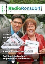 07-2013-Raro-Magazin - RadioRonsdorf