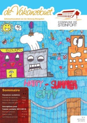 Sommaire - Steinfort