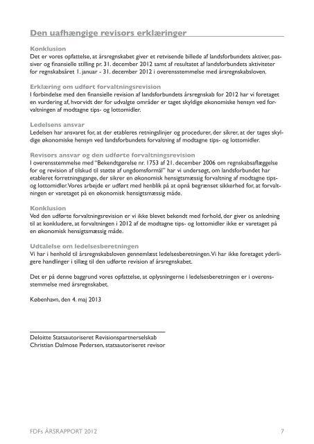 FDFs ÅRSRAPPORT 2012 - Leder - FDF