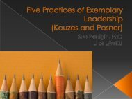 Five Practices of Exemplary Leadership (Kouzes and ... - ACCED-i