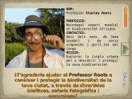 Presentació projecte Biodiverciutat - Col.legi Montserrat