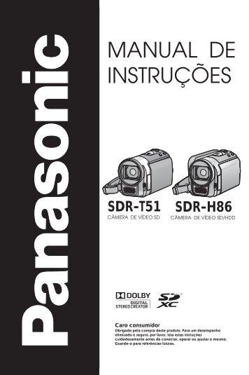 SDR-H86.pdf - Panasonic