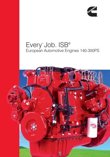 ISBe - Cummins Engines