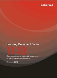 Learning Document Series 11-13 - ActionAid International