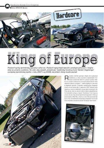 Hardcore: Honda Civic Dragster - AutoTuning.sk