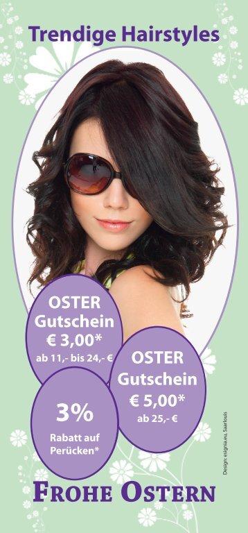 FROHE OSTERN - Ritas Haarstudio Rita Becker-Klein