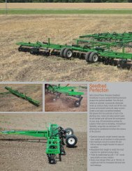 Seedbed Perfection - Great Plains Manufacturing