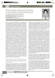 Plasma Brain Natriuretic Peptide Level - The Federation of Medical ...