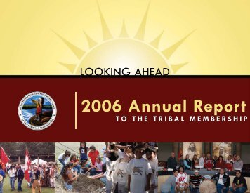 2006 annual report - cskt - Confederated Salish and Kootenai Tribes