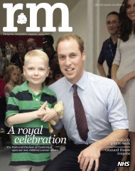 RM Magazine - winter 2011 - The Royal Marsden