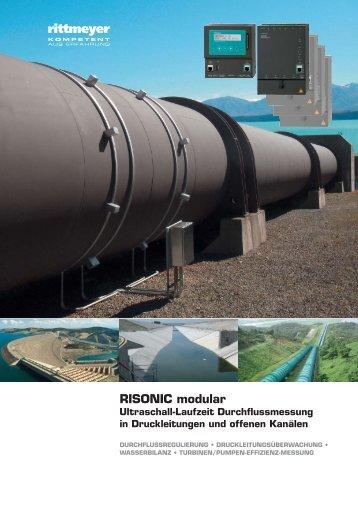RISONIC modular Ultraschall-Laufzeit ... - Rittmeyer