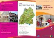 aktueller Hausprospekt - Jugendherberge Heidenheim