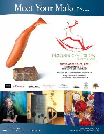 Christmas Market Directory 2011 - Nova Scotia Designer Crafts ...