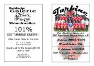 Stadionmagazin 05/2008 Turbine - SV Kröppen - VfB Rotenstein ...