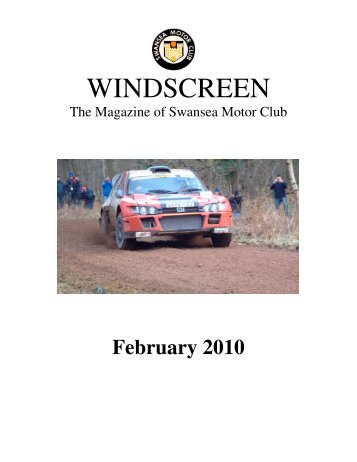 WINDSCREEN - Swansea Motor Club