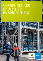 Vorbeugender baulicher Brandschutz - Bilfinger Industrial Services