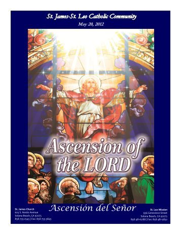May 20, 2012 - St. James and St. Leo Catholic Community
