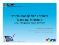 Sistem Manajemen Layanan Teknologi Informasi