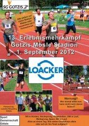 Ausschreibung - Vorarlberger Leichtathletik-Verband