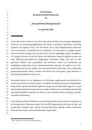 Positionspapier Schulpolitik - JU Dithmarschen