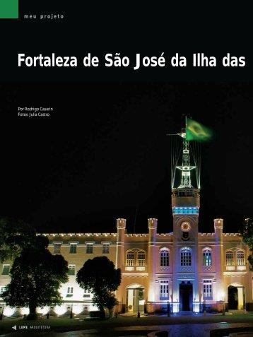 Fortaleza de São José da Ilha das - Lume Arquitetura