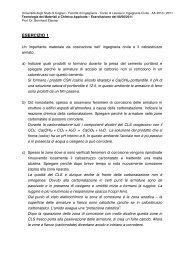ESERCIZIO 1 - DipCIA - Università degli studi di Cagliari.