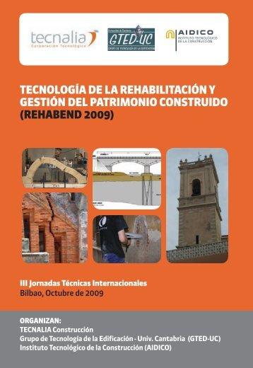 tecnología de la rehabilitación y gestión del patrimonio construido