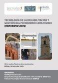 tecnología de la rehabilitación y gestión del patrimonio construido - Page 2