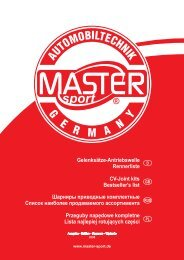 Gelenksätze-Antriebswelle Rennerliste CV-Joint kits Bestseller's list ...