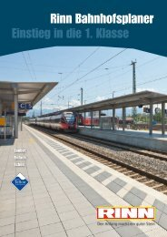 Rinn Bahnhofsplaner Einstieg in die 1. Klasse - Rinn Beton