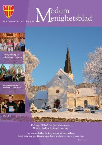 Nr. 4 - 2011 - kirkene i modum