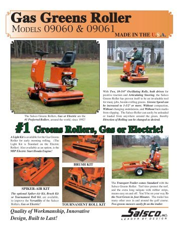 Gas Greens Roller - Salsco Inc.